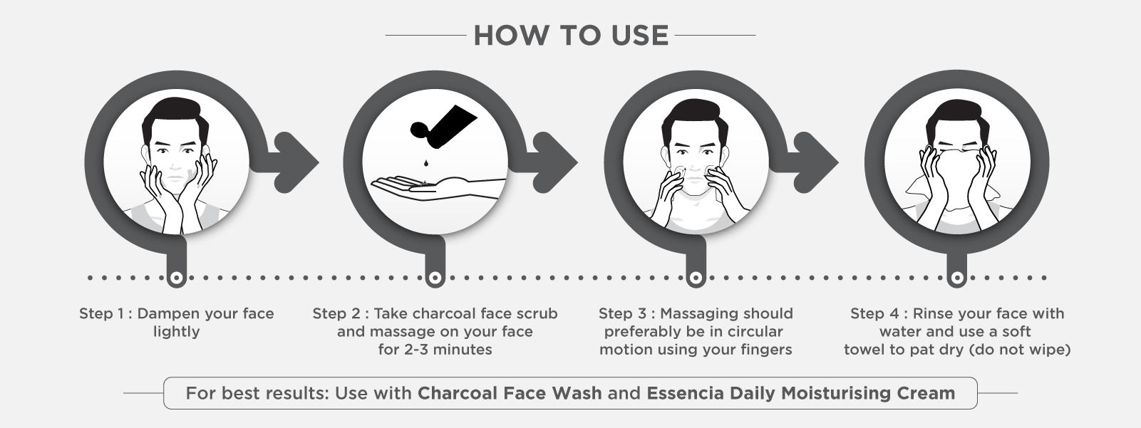charcoal-face-scrub