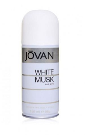 Jovan White Musk Deodorant Body Spray For Men (150ml)
