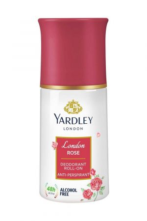 Yardley London London Rose Anti Perspirant Deodorant Roll On For Women (50ml)