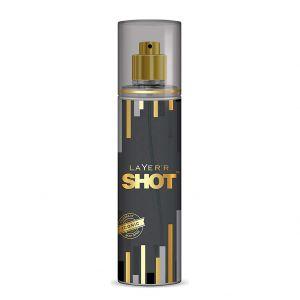 Layer'r Shot Gold Perfume Fragrant Iconic Body Spray (135ml)
