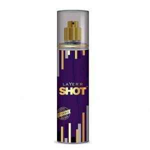 Layer'r Shot Gold Perfume Fragrant Dynamic Body Spray (135ml)
