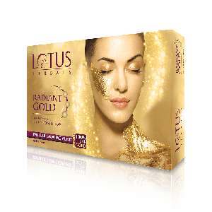 Lotus Herbals RADIANT GOLD Cellular Glow Single Facial Kit (37gm)