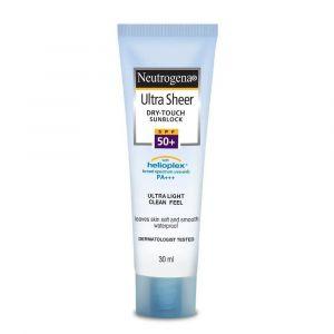 Neutrogena Ultra Sheer Dry-Touch Sunblock SPF 50+ (30ml)