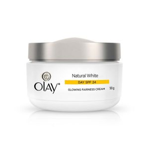 Olay Natural White Glowing Fairness Day Cream SPF 24 (50gm)
