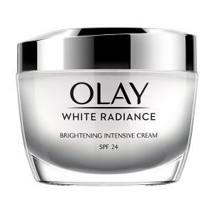 Olay White Radiance Brightening Intensive Cream SPF 24 UVA/UVB Moistuiser (50gm)