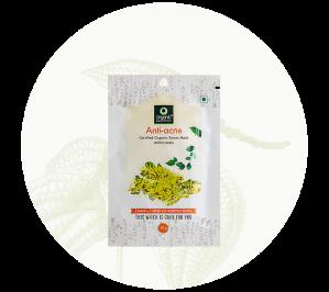 Organic Harvest Anti Acne Sheet Mask (20gm)