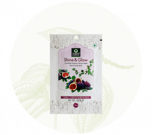Organic Harvest Shine & Glow Sheet Mask (20gm)