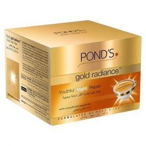 Ponds Gold Radiance Youthful Night Cream (50gm)