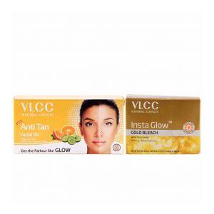 vlcc-anti-tan-facial-kit-and-insta-glow-gold-bleach-combo