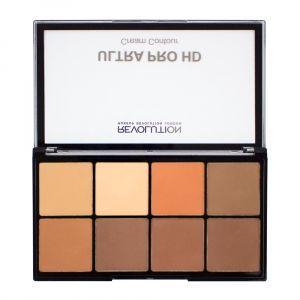 makeup-revolution-hd-pro-cream-contour-palette-fair-Medium-Dark