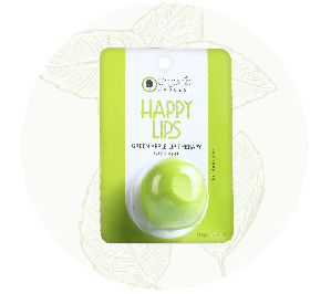 Organic Harvest Green Apple Lip Balm (10gm)