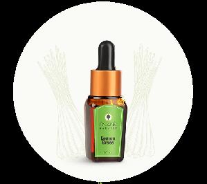 Organic Harvest Lemon Grass Essential Oil (10ml)