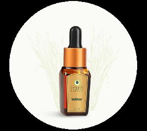 Organic Harvest Vetiver Essential Oil (10ml)
