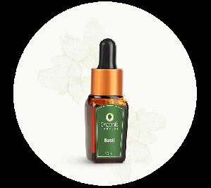 Organic Harvest Basil Essential Oil (10ml)