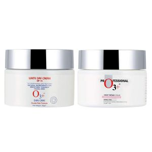 O3+ Whitening & Brightening Day and Night cream Combo (100gm)