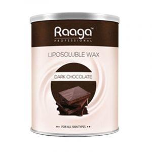 Raaga Professional Liposoluble Wax Dark Chocolate (800ml)