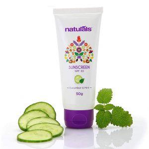 Naturals Cucumber And Mint Sunscreen SPF 30 (50gm)