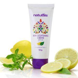 Naturals Lemon & Tulsi Skin Lightening Cream SPF 30 (50gm)