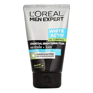 loreal-paris-men-expert-white-activ-oil-control-charcoal-foam-100ml