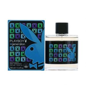 Playboy Generation Eau De Toilette Spray for Men (100ml)