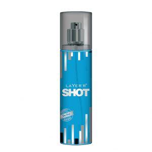 Layer'r Shot Fragrant Blue Blaze Body Spray (135ml)