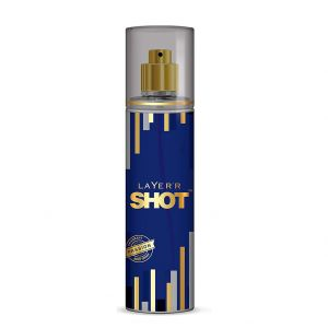 Layer'r Shot Gold Perfume Fragrant Passion Body Spray (135ml)