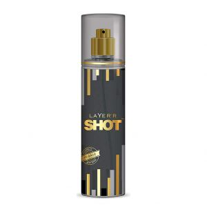 Layer'r Shot Gold Perfume Fragrant Iconic Body Spray (135ml)