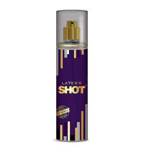 Layer'r Shot Gold Perfume Fragrant Dynamic Body Spray (135ml)