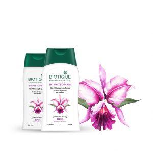 Biotique Bio White Orchid Skin Whitening Body Lotion
