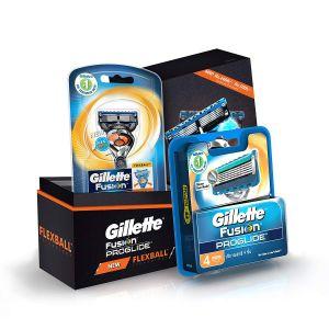 gillette-flexball-proglide-combo-pack-and-flexball-razor-with-4-flexball-cartridge