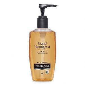 Liquid Neutrogena Pure Mild Facial Cleanser (150ml)