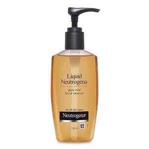 Liquid Neutrogena Pure Mild Facial Cleanser (150ml)