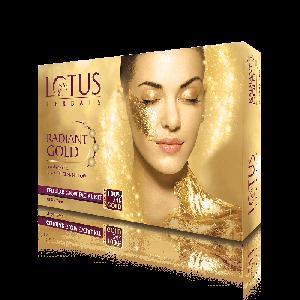 Lotus Herbals RADIANT GOLD Cellular Glow Single Facial Kit (37gm)