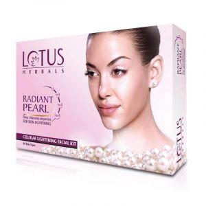 Lotus Herbals RADIANT PEARL Cellular Lightening Single Facial Kit (37gm)