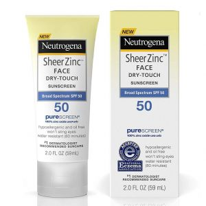 Neutrogena Sheer Zinc Dry-Touch Sunscreen with Broad Spectrum SPF 50 (59ml)