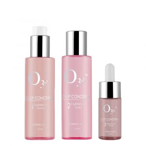O3+ Brighten Up Combo Cleanser, Tonic and Serum (260ml)