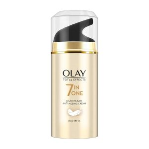 Olay Total Effects 7-In-1 Lightweight Anti Ageing Moisturizer Cream SPF 15 (20gm)