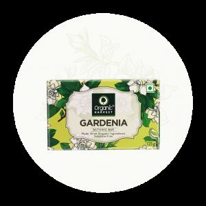 Organic Harvest Gardenia Bathing Bar Soap (125gm)