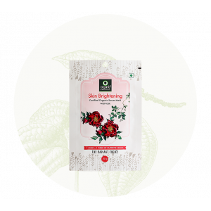 Organic Harvest Skin Brightening Sheet Mask (20gm)