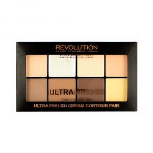 makeup-revolution-hd-pro-cream-contour-palette-fair
