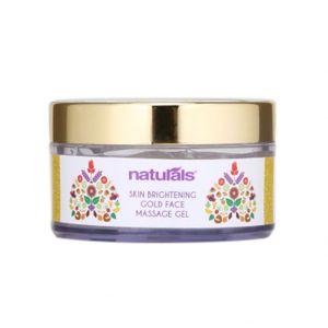 Naturals Skin Brightening Gold Face Massage Gel (50gm)