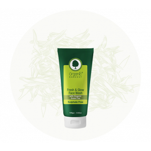 Organic Harvest Fresh & Glow Face Wash (100gm)