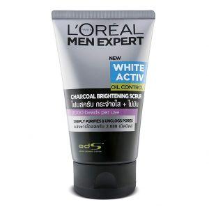 loreal-paris-men-expert-white-activ-charcoal-brightening-scrub-100ml
