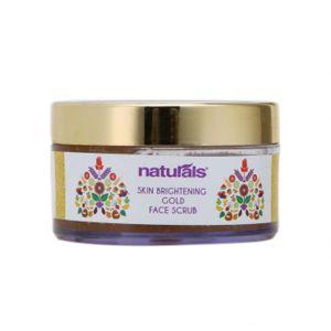 Naturals Skin Brightening Gold Face Scrub (50gm)