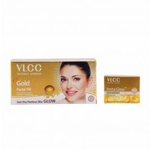 vlcc-gold-facial-kit-insta-glow-gold-bleach-combo