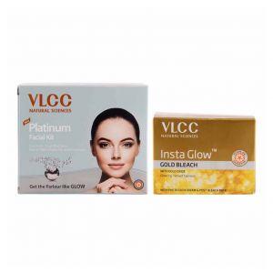 vlcc-platinum-facial-kit-and-insta-glow-gold-bleach-combo
