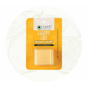 Organic Harvest Lemon Lip Balm (10gm)