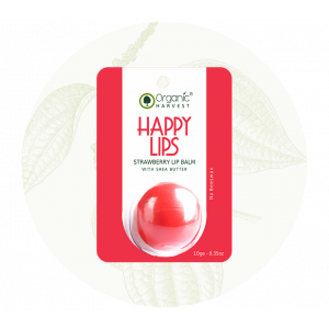 Organic Harvest Strawberry Lip Balm (10gm)