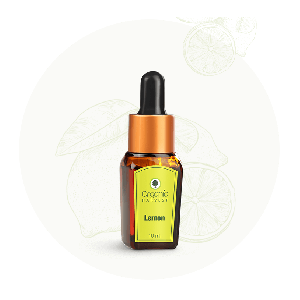 Organic Harvest Lemon Essential Oil (10ml)